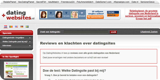 DatingWebsites.nl